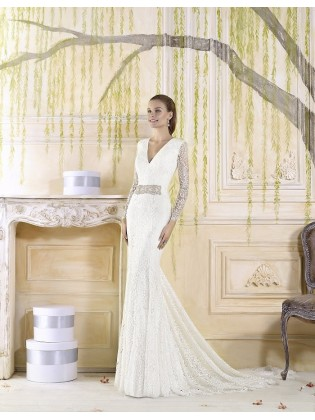 Wedding dress  Tallo Cala-Villais
