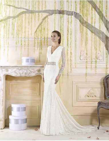 Wedding dress  Tallo Cala-Villais