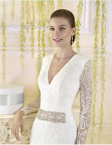Vestido de novia Tallo de Cala-Villais