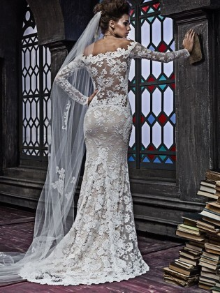 Wedding dress 2353 by  OLVI'S