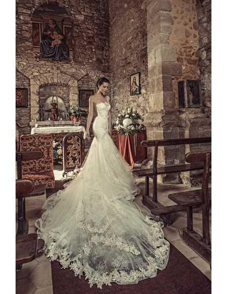 Vestido de novia 1729 de Julia Kontogruni