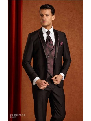 Groom suits  Diamont black