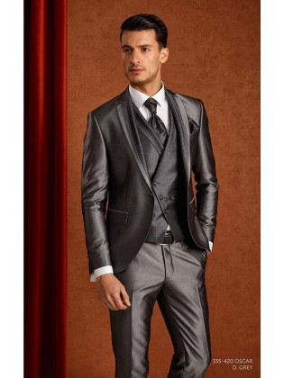 Groom suits  Oscar grey