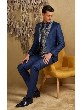 Groom suits  3039 navy