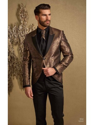 Groom suits 3012 gold
