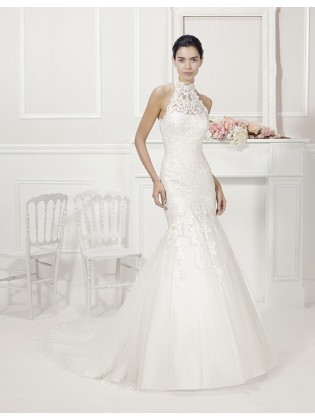 Wedding dress Fiore  by Alma novias