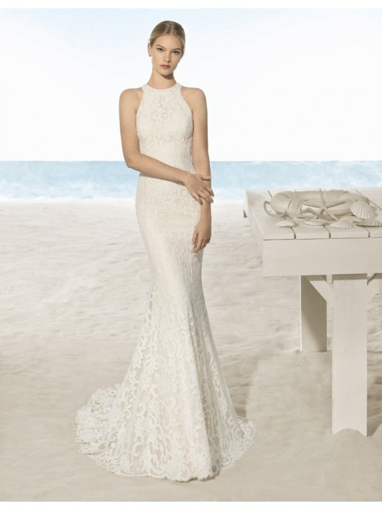 Wedding dress UXIA - AIRE BARCELONA