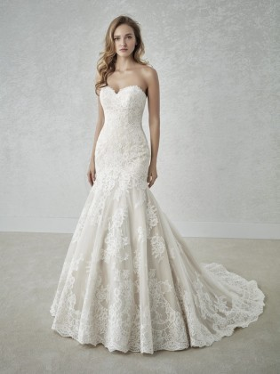 Wedding dress FABULA - WHITE ONE