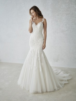 Wedding dress FADA - WHITE ONE