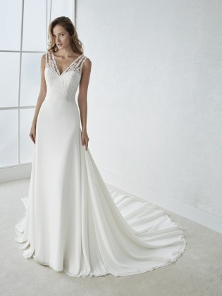 Wedding dress FIORELA - WHITE ONE