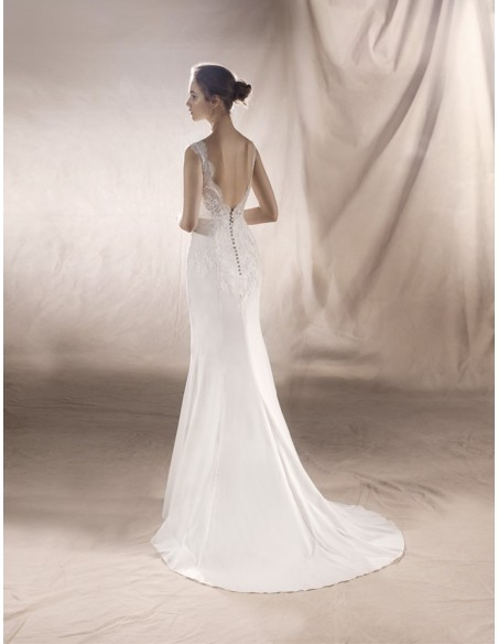 Wedding dress SATURN - WHITE ONE