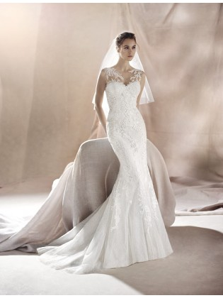 Wedding dress SAURA - WHITE ONE