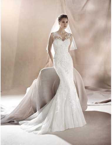 Vestido De Novia Saura White One