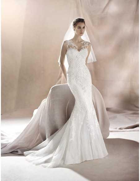 Vestido de novia SAURA - WHITE ONE