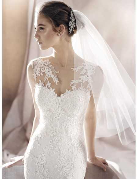 Wedding dress SAURA - WHITE ONE