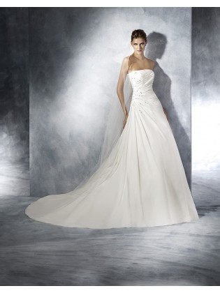 Wedding dress TERESA - WHITE ONE