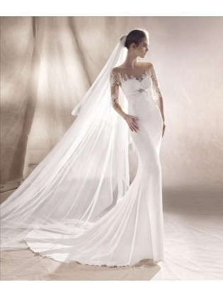 Wedding dress SUNI - WHITE ONE