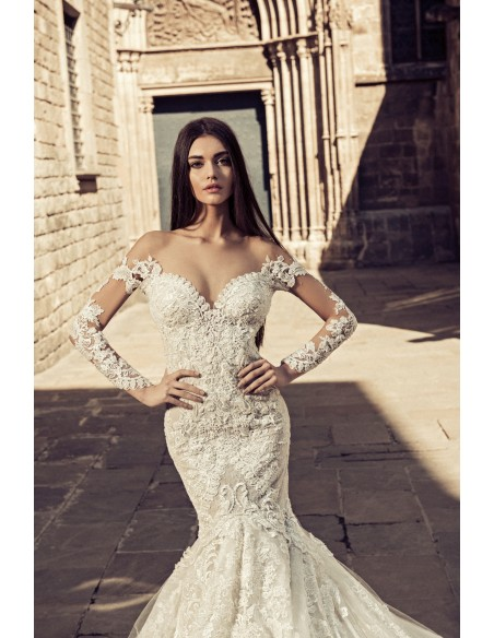Wedding dress JK1855 by Julia Kontogruni