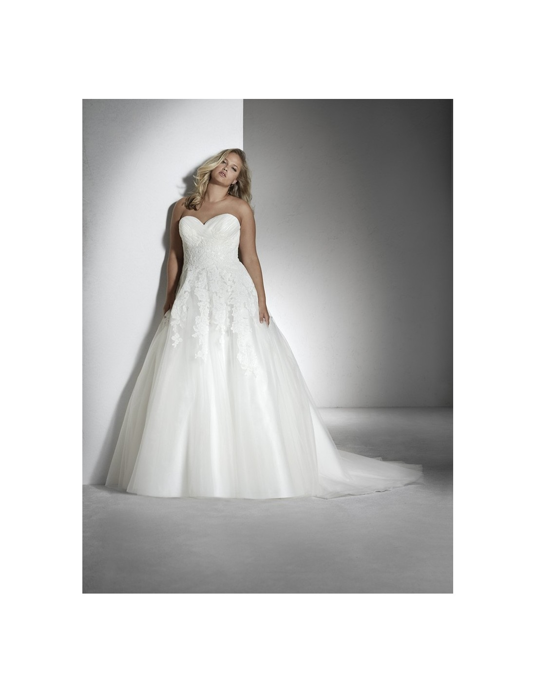 wedding dress toscana - white one plus