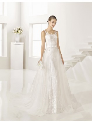 Wedding dress GERALDINE - ALMA NOVIAS