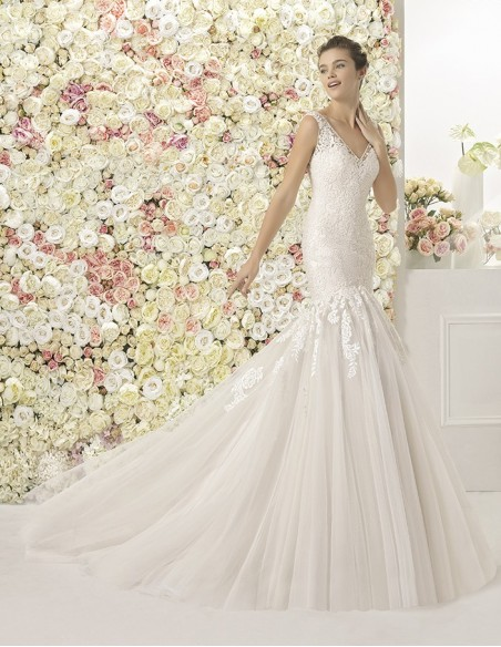 Wedding dress CASIS - AIRE BARCELONA