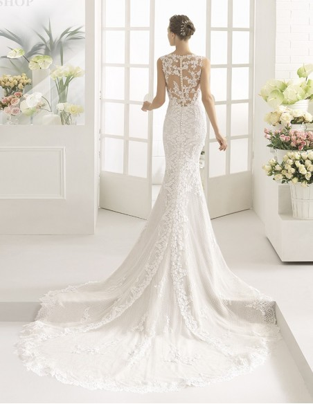 Wedding dress CACHE - AIRE BARCELONA