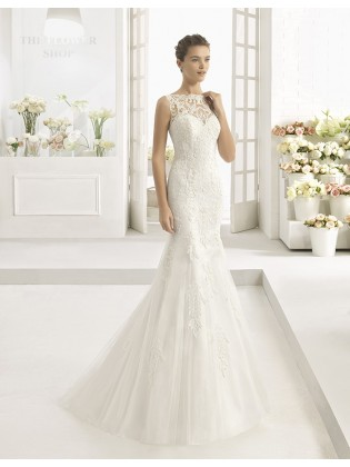 Wedding dress CALAMO - AIRE BARCELONA