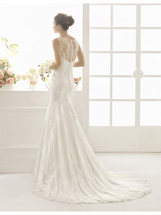 Wedding dress CALANDRA - AIRE BARCELONA