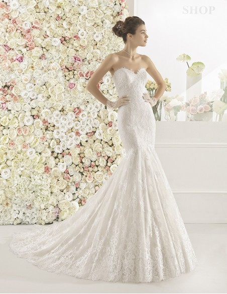 Wedding dress CALEM - AIRE BARCELONA