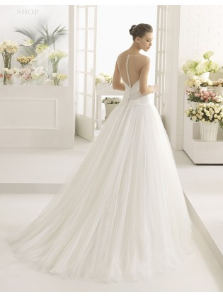 Wedding dress CAÑA - AIRE BARCELONA