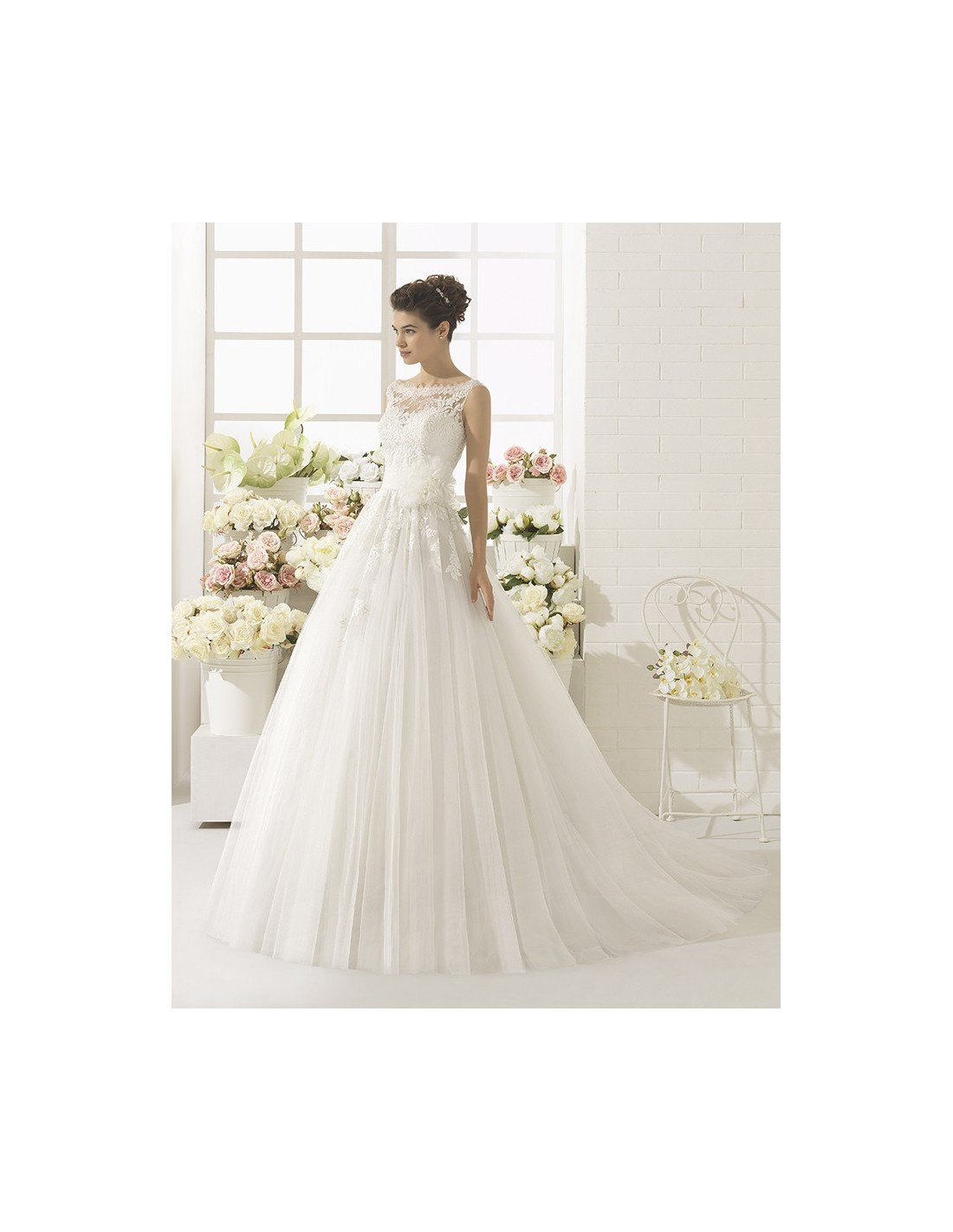 Lace And Satin Wedding Dresses 013 - Lace And Satin Wedding Dresses
