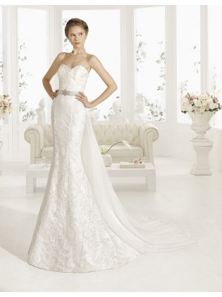 Wedding dress CRIBAS - AIRE BARCELONA