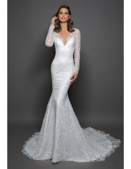 Wedding dress 14598 - PNINA TORNAI