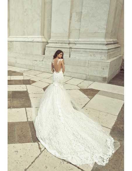 Wedding dress JK1813 by Julia Kontogruni