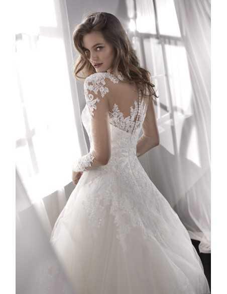 Vestido de novia modelo Lilac de San Patrick