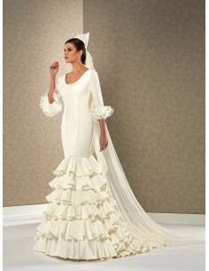 Wedding dress Candela by Novias del sur