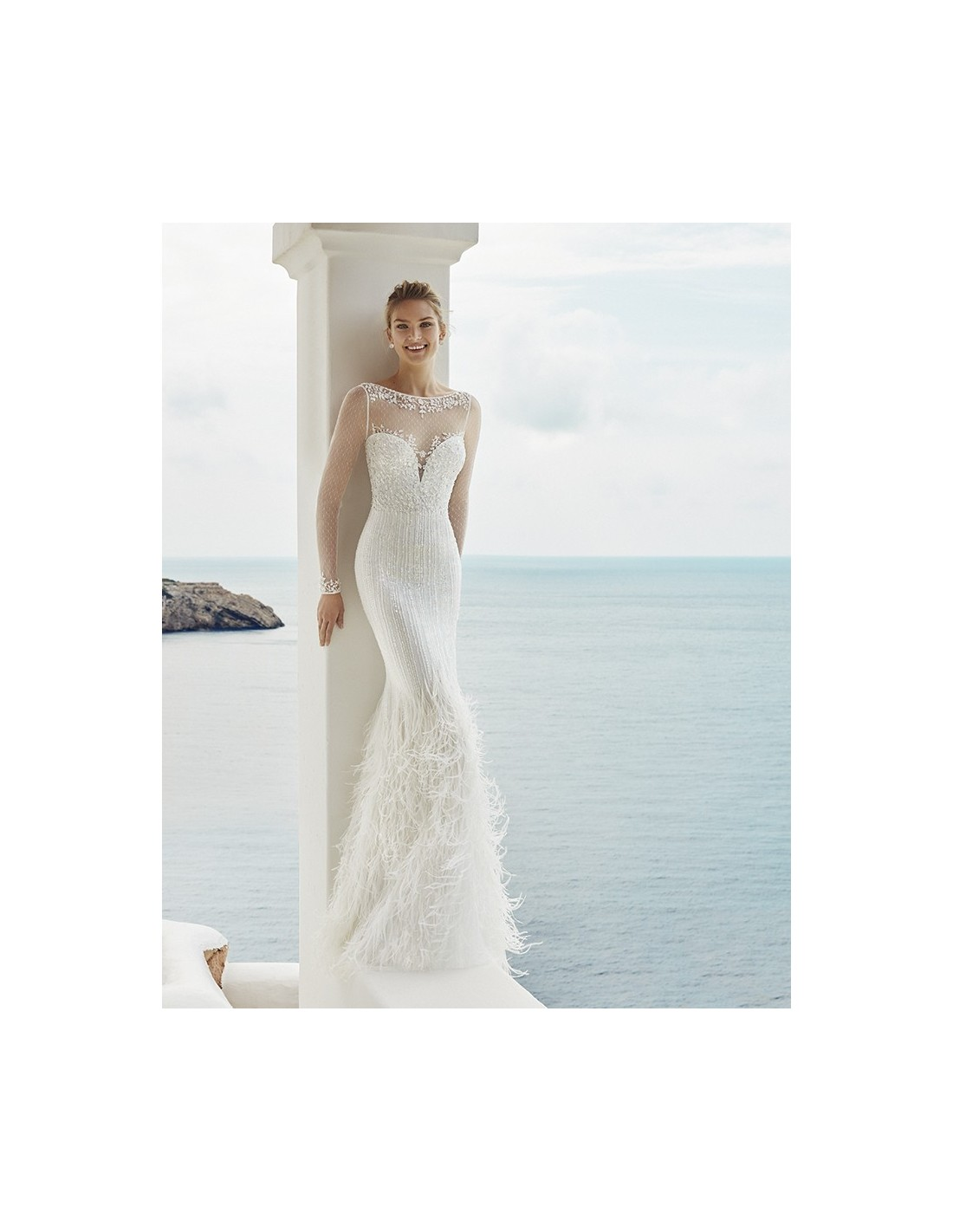 Wedding dress GALE - AIRE BARCELONA