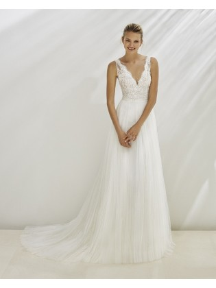 Wedding dress CHILE - AIRE BARCELONA
