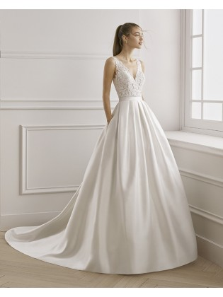 Wedding dress EOLO - AIRE BARCELONA