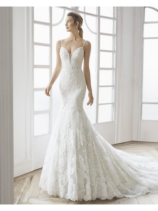 Wedding dress ELVA - AIRE BARCELONA