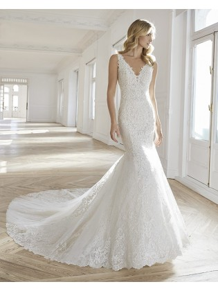 Wedding dress EMILIE - AIRE BARCELONA