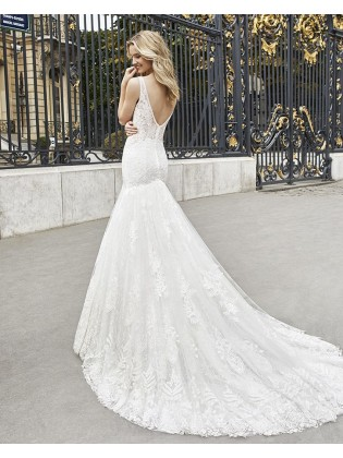 Wedding dress EMMET - AIRE BARCELONA