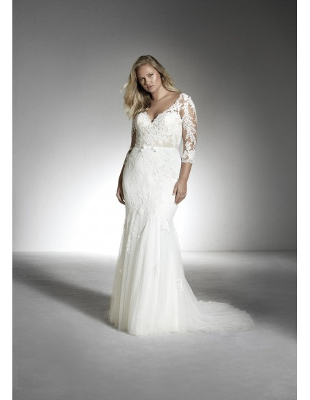 Wedding dress DEMO - WHITE ONE PLUSE