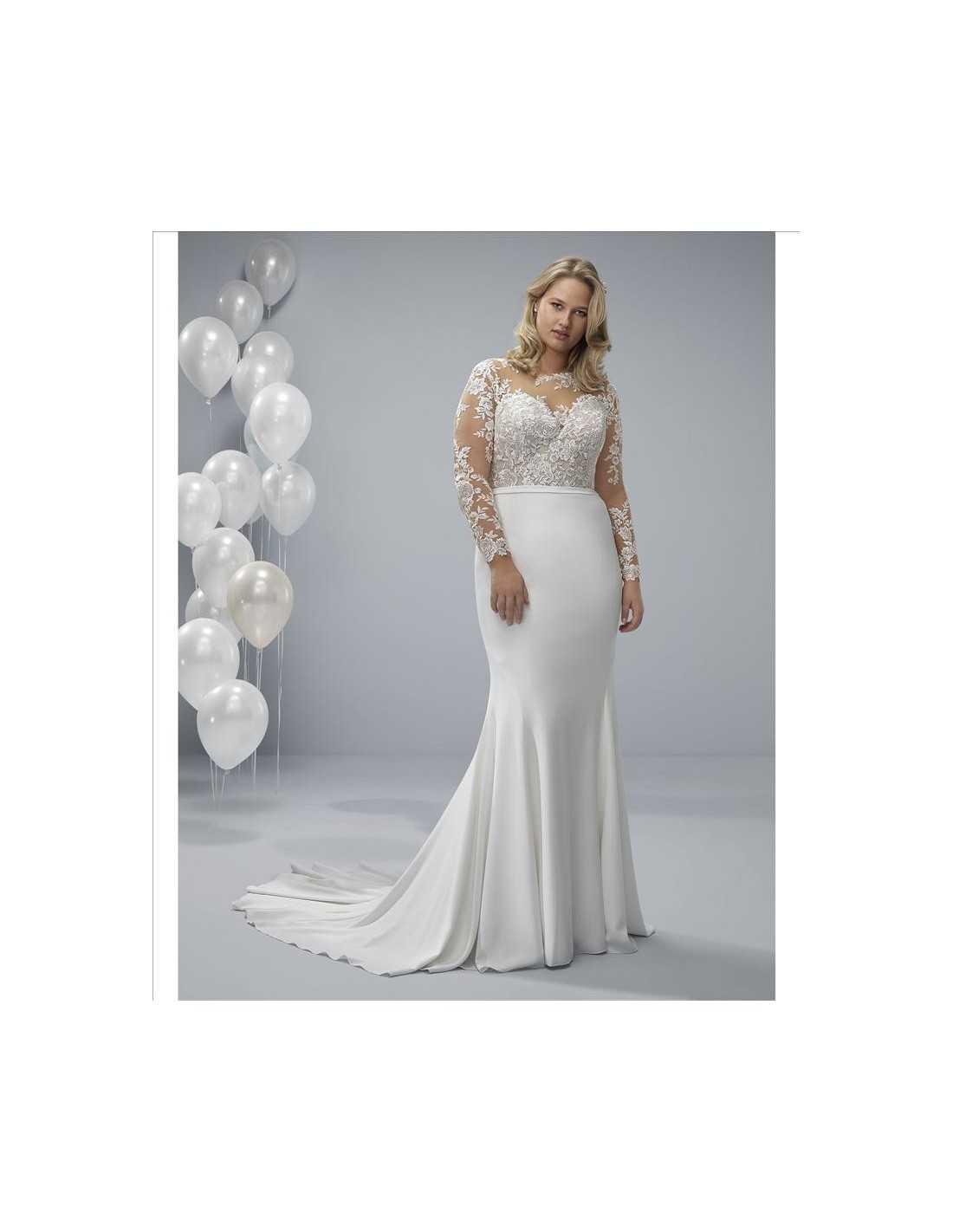 7e3f32f7139 Wedding dress OCA - WHITE ONE PLUSE