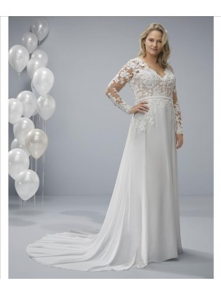 Wedding dress ODA - WHITE ONE PLUSE