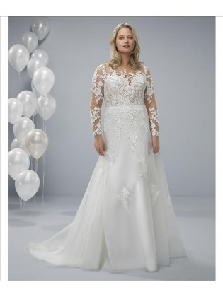 Vestidos de novia ODRE - WHITE ONE PLUS