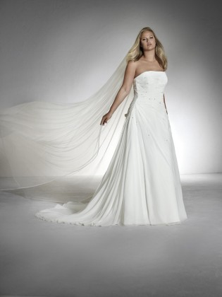 Wedding dress TERESA - WHITE ONE PLUSE