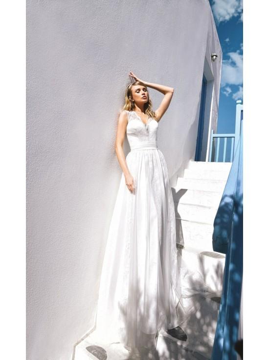 Wedding dress BO'M 001 - WHITE ONE PLUSE