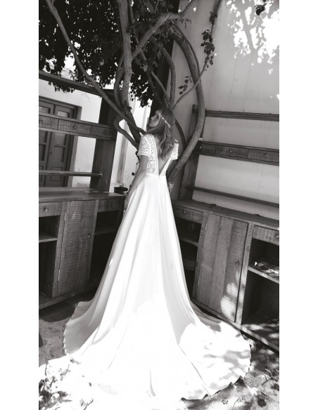Wedding dress BO'M 003 - WHITE ONE PLUSE