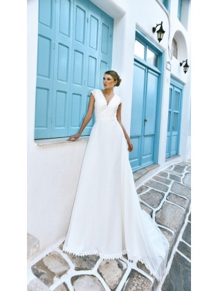 Wedding dress BO'M 005 - WHITE ONE PLUSE